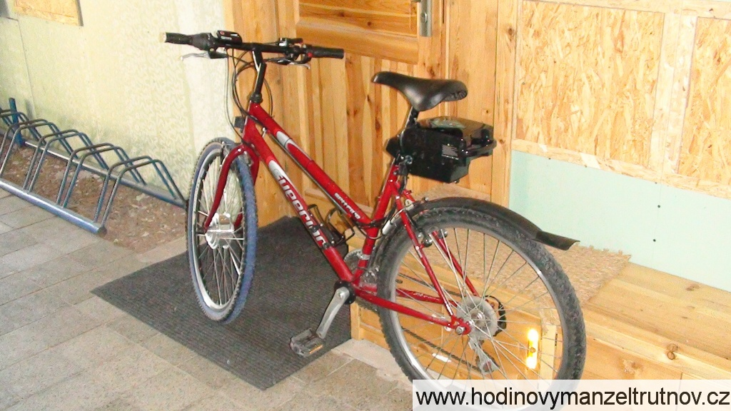 Montáž elektrosady na jízdní kolo