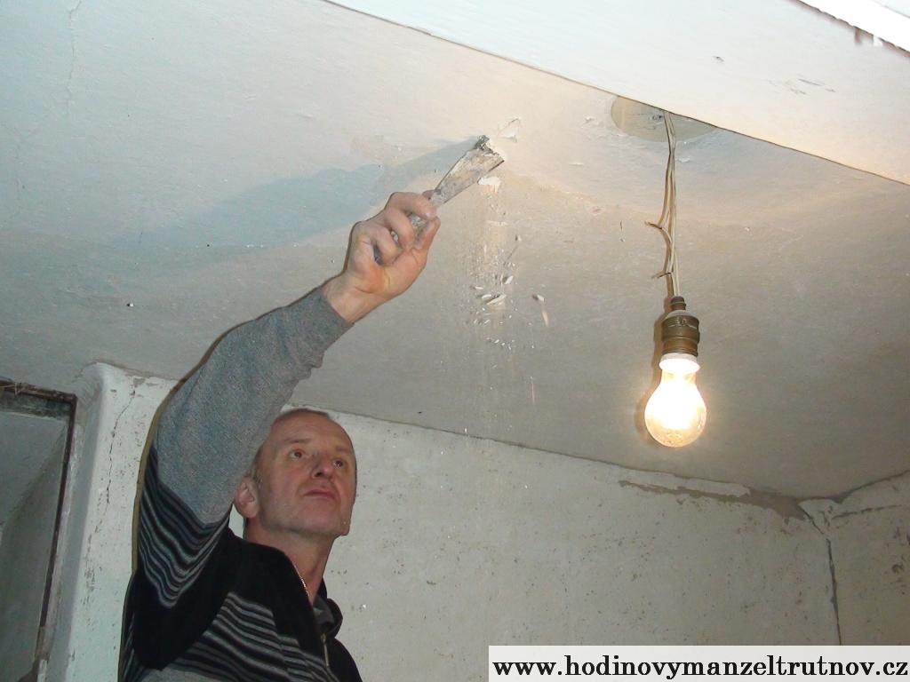 Škrabání stropů